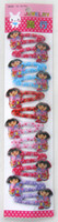 Barrettes & Clips Children's Gift Free shipping! New Kids Girls Baby Cute Girl`s Rare Hair clips Hair Pins Hair Accessories 120 pcs lot