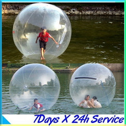 2015 Sports & Outdoors Zorb Zorbing Walk ball   Water walking ball   Walk on Water Ball 1.8M PVC 0.8MM fast shipping