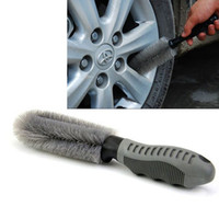 Wholesale Wheel Tire Rim Scrubbing Brush Wash Cleaning Tool for Truck Car Motorcycle