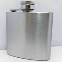 Germany 3oz stainless steel hip flask men with wine pot pock...