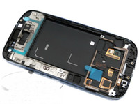 Wholesale For SAMSUNG GALAXY S3 SIII I9300 Blue White Digitizer LCD Screen Display