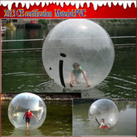 TPU walk on water ball - 2015 WATER sport Zorb Zorbing Walk ball Water walking ball Walk on Water Ball M PVC MM Fast EMS DHL with