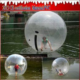 2015 WATER sport Zorb Zorbing Walk ball   Water walking ball   Walk on Water Ball 1.8M PVC 0.8MM Fast EMS   DHL with 2pcs lot
