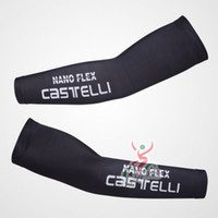 Wholesale Castelli Cycling arm warmers arm cover sleeve White cycling arm sleeve