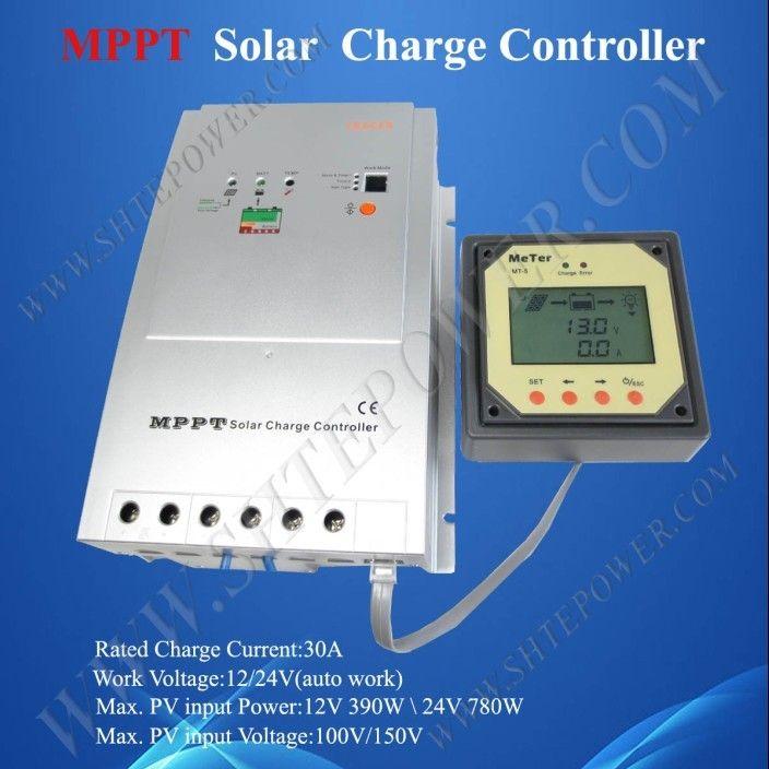 Mppt Solar Charge Controller Tracer 3215rn 30a 12 24v