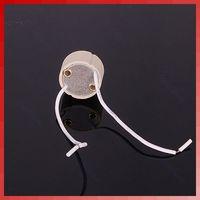 Wholesale 100pcs GU10 Base Socket Lamp Holder Ceramic Wire Connector