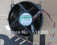 Wholesale 100 New SUNON mm x mm KDE1209PTVX Maglev Cooler Cooling Fan V W