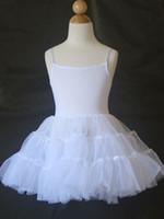 ballerina flower girl - Wedding Party Petticoat For Flower Girl Dress ballerina skirt only a skirt do not include top part shirt