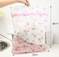 Wholesale retail cartoon High quality cheap price clothing protect wash bag washing machine care laundry hamper cm Size L