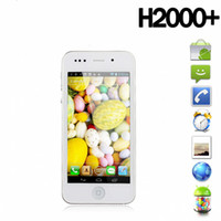 Wholesale Hero H2000 MTK6577 Dual core GHz Android I5s Goophone i5 GPS WIFI G GPS MP inch Smartphone
