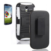 Wholesale RUGGED HEAVY DUTY CASE BELT CLIP HOLSTER STAND Case for Samsung Galaxy S4 I9500