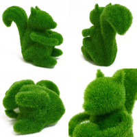 Plastic artificial animal eyes - HOT SELLING Can relieve eye Fatigue Artificial grass decorations Grass Land cute small animals artificial grass animals designs decorations