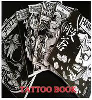 Wholesale JAPAN RARE TATTOO FLASH BOOK ART MAGAZINE Vol Horimouja Jack Mosher A B4 BOOK1084
