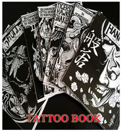 Wholesale JAPAN RARE TATTOO FLASH BOOK ART MAGAZINE Vol Horimouja Jack Mosher A B4 BOOK1084