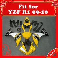 Wholesale 09 YZF R1 racing fairings For YAMAHA YZF R1 YZF R1 YZF1000 R1 YZFR1 R1 bodykits ABS plastic heat shield