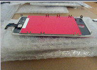 Wholesale 10pcs DHL Replacement Touch Screen LCD Display Digitizer Frame Full Set Assembly Tools For iPhone G S
