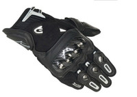 Wholesale black outdoor exercises SP X Motorcycle Gloves motorbike racing leather Bomber riding glove M L XL