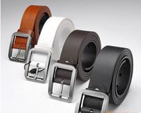 Standard Men Standard Hot Men's Belts Classic buckle belt men's belt genuine leather belt leisure wild influx of men belt 5piece Lot