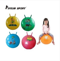 Wholesale Fitness Ball Explosion thicker claw the ball jumping ball code kindergarten children s toys parent child bouncing ball