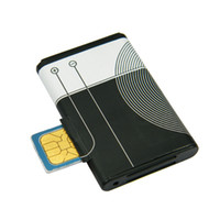 band sim - Hidden listening device Quad band GSM Battery Shape Audio Bug With Global Position Function