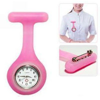 Wholesale Doctor Nurse Brooch Fob Watch Silicone Cover New