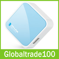 Wholesale TP LINK TL WR703N Mini Portable G Wifi Wireless Router Mbps IEEE n b g Free DHL