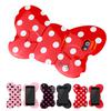 3D Silicone Cover Bow Case For iphone 5 5G Bowknot case Free Shipping