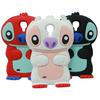 Lovely Cartoon 3D Stitch Hard Back Case Cover Silicone Skin For Samsung Galaxy S4 i9500 Free Shipping