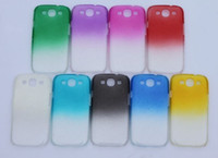 Plastic For Samsung For Christmas Mixed colors Waterdrop crystal raindrop hard case cover for Samsung Galaxy S3 Slll Mini I8190 with 10 design From china factory 50pcs DHL