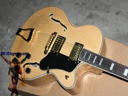 Wholesale New Hollow Natural Custom L Jazz Electric Guitar ES guitars Top Musical instruments Best