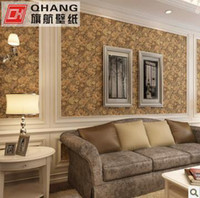 Wholesale Ou deep embossing QH palace big sitting room dining room wall paper background wallpaper