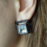 Wholesale Diamond Earrings high quality lovely earring fashion jewelry earrings wedding stud earrings
