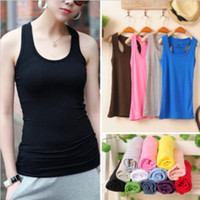 batch t shirt - Summer Tank Top Women Casual Fashion Dresses Womens Dresses Fashion Color Mix Batch Sexy Cotton Women s Vests long Tee T Shirt