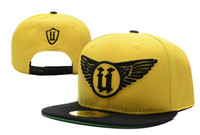Wholesale mitchell ness unkut wings snapback yellow Snapback sport teams hats kids snapbacks fitted hats fity caps adjustable hats
