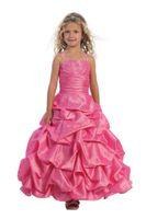 Wholesale Lovely Purple Pink Ankle Le Flower Girls Dresses Girls Formal Dresses Princess Pageant Skirt Holidays Brithday Skirt SZ HF513020