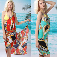 Women Bikinis skull 2014 Summer Fashion Womens Swimwear & Beachwear Sexy Ladies Casual Long Beach Wear Dresses Bathing Suit Cover ups one piece Swimsuits Skirt