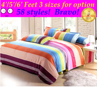 Wholesale Drop Shipping Good quality sizes Cotton set Duvet quilt Cover bed the sheets bedspread pillowcase orchid heart bird
