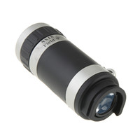 Wholesale CHpost X Zoom Mobile Phone Telescope Camera Lens with Case for iphone G with Retail Package