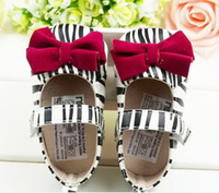Wholesale 10 off Zebra with bow toddler shoes shoes sale discount shoes china shoes pairs