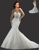 Sheath/Column beach portrait dress - Glamorous Sleeveless Sweetheart Beading Belt Tulle Lace appliques Sheath Mermaid Wedding Dress Gowns