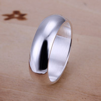 flat ring - sterling silver Flat Ring Gift Box Women s Men s Male Female optional r025