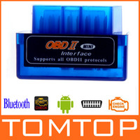 Wholesale Mini V1 ELM327 ELM OBD2 Bluetooth Interface Auto Car Scanner obd ii Diagnostic Tool K880