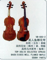 Wholesale Violin VB Advanced handcraft Carved Senior leaners