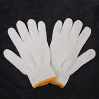 Wholesale Thickening spindled wear resistant gloves cotton gloves work gloves safety gloves line