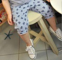 Wholesale 2016 Summer Kids Shorts Cotton Children Boys Skull Vertical Stripe Design Short Pants Kids Clothing Size