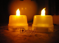 Wholesale LED Electronic Candle Smokeless Battery Candles Romantic teaLight party wedding supply