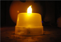 Wholesale LED Smokeless Flickering Battery Candles Flameless LED teaLight party wedding decor