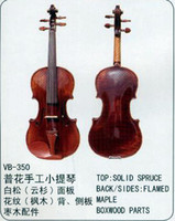 Wholesale Violin common grade Handcraft solid spruce maple hard wood Primary learners