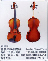 Wholesale Violin VB common grade with popular Plywood solid spruce maple hard wood Primary learners