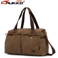 Wholesale New brand cotton canvas travel bag casual handbag shoulder bag